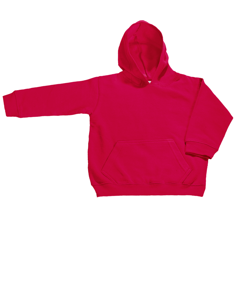 684_Toddler-Pullover-Hood-with-Muff-Pockets_Red
